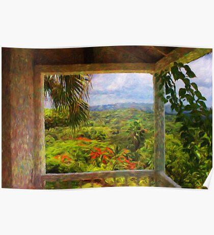 Jamaican Mountains Poster