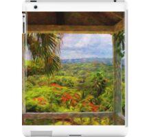 Jamaican Mountains iPad Case/Skin