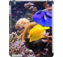 Tropical Fish on the Reef iPad Case/Skin