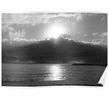 Redcliffe Beach Sunrise Poster
