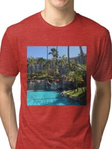 Tropical Hotel Tri-blend T-Shirt