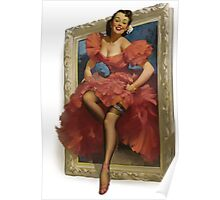 Pin-up Mirror Poster