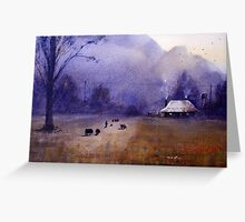 Going Home, Glen Davis, NSW Greeting Card