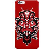 SHAMAN MASK – angry red iPhone Case/Skin