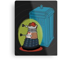 Daleks in Disguise - Eleventh Doctor Metal Print