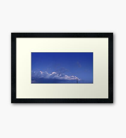 ©HCS Flying In A Blue Dream IIAS Framed Print