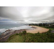 Afternoon view south coast NSW Photographic Print