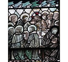 The Last Supper Stained Glass Window 0001 Photographic Print