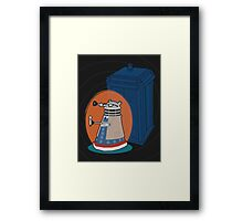 Daleks in Disguise - Tenth Doctor Framed Print