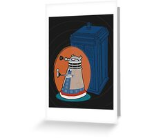 Daleks in Disguise - Tenth Doctor Greeting Card