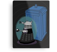 Daleks in Disguise - Ninth Doctor Metal Print