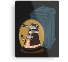 Daleks in Disguise - Eighth Doctor Metal Print