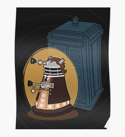 Daleks in Disguise - Eighth Doctor Poster