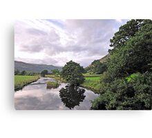 Lake District Reflection Canvas Print