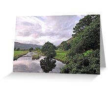Lake District Reflection Greeting Card