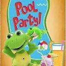 A Pool Party by Ann12art