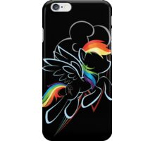 Rainbow Dash Contour iPhone Case/Skin