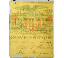 Historical Collage of American Treasures iPad Case/Skin