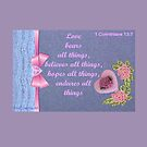 A love card with a verse  by Ann12art
