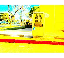 can you buy love? Photographic Print
