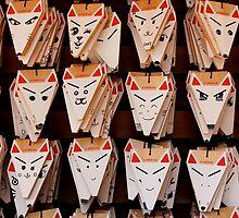 Prayer Boards at Fushimi Inaritaisha by nekineko
