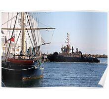 Port Scenes Poster