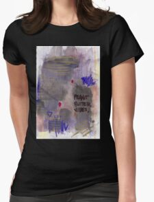 Gooey Womens Fitted T-Shirt