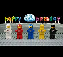 Happy Birthday - Classic Space by Wonderfulbricks