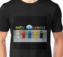Happy Birthday - Classic Space Unisex T-Shirt