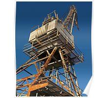 Old Crane Poster