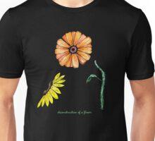 deconstruction of a flower Unisex T-Shirt