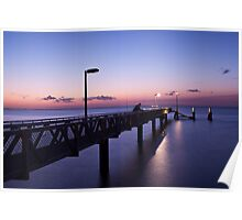 Amity Point Sunset Poster