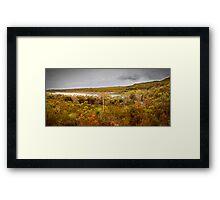 Panorama - Honey Eater Lake Framed Print