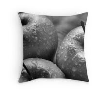 We Three Apples Throw Pillow