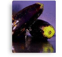 Purple Rain & Passionate Eggplant Canvas Print