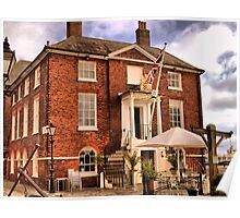 Old Customs House ~ Poole, Dorset UK Poster
