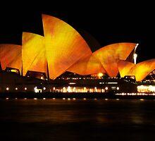 Vivid Sydney 2010 - Firey Opera House by pyko
