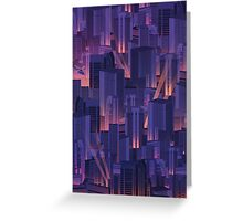 Midnight City Greeting Card