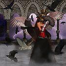 Masked Raven, Secret Wisdom by strawberries
