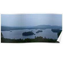 Blue Mountain Lake, Adirondacks Poster
