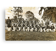 Tahoma Marine Guard Canvas Print