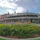 Commercial Hotel, Nhill, Victoria, Australia by Margaret  Hyde