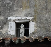 Old City Window by nadinecreates