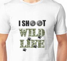 I Shoot Wild Life Unisex T-Shirt