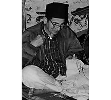 The Tailor of Garhwal, India Photographic Print