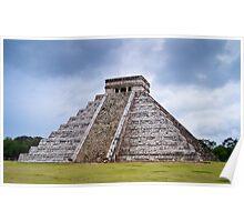 Pyramid Of Kukulkan Poster