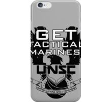 HALO - Get Tactical Marines! - UNSC iPhone Case/Skin