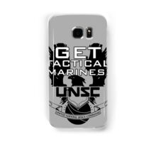 HALO - Get Tactical Marines! - UNSC Samsung Galaxy Case/Skin