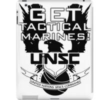 HALO - Get Tactical Marines! - UNSC iPad Case/Skin