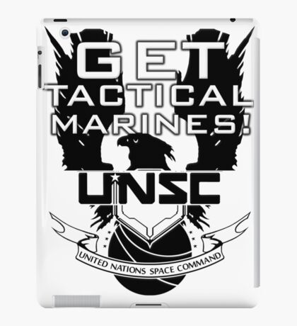 HALO - Get Tactical Marines! - UNSC iPad Case/Skin
